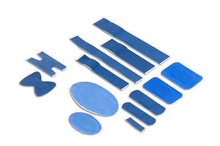 detektierbare, blaue Wundpflaster (HACCP)
