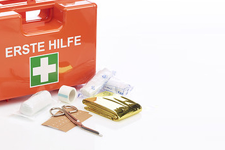 Erste Hilfe Koffer  HACCP - detektierbar