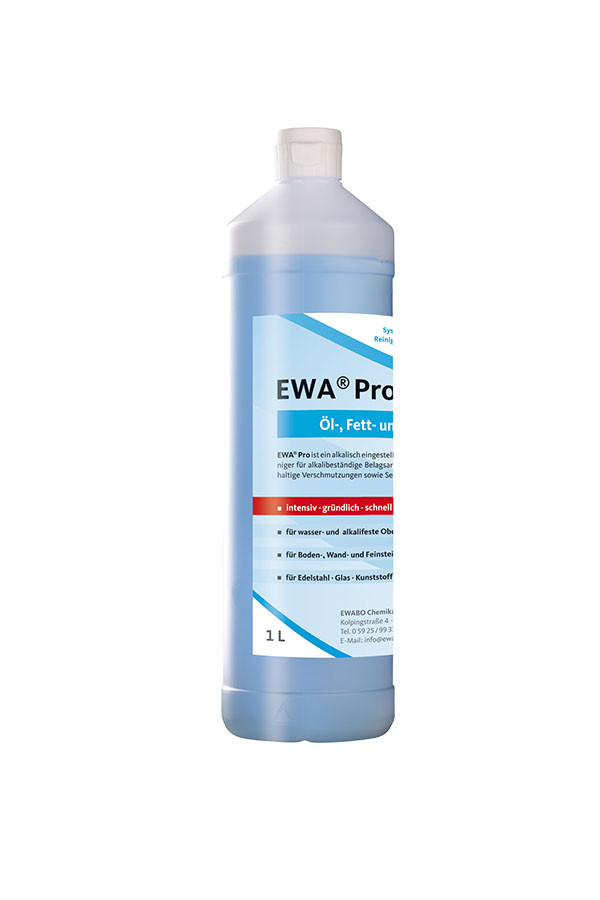 EWA® Pro - Konzentrat - alkalischer Öl-, Fett- und Schmutzlöser, schaumarm – 1 L / 10 L