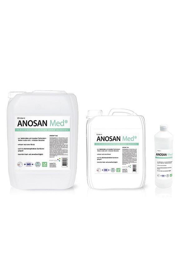 ANOSAN MED  75 ml, 1 - 5 - 20 L