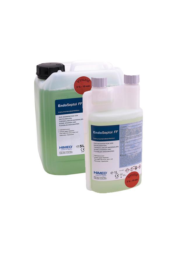 EndoSeptol® FF  Konzentrat zur Desinfektion von Medizinprodukten, viruzid 3% / 15 Minuten, 1 Liter / 5 Liter