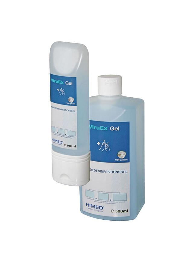 ViruEx® Gel - Händedesinfektionsgel,  100 ml / 500 ml
