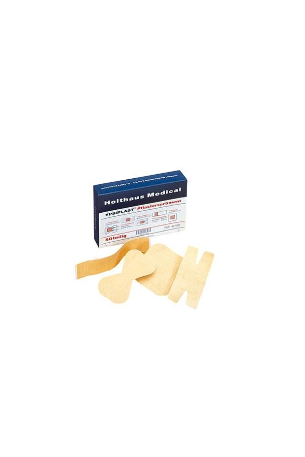 YPSIPLAST®  Sortiment robust 50 Stück hautfarben mit 8 Sorten