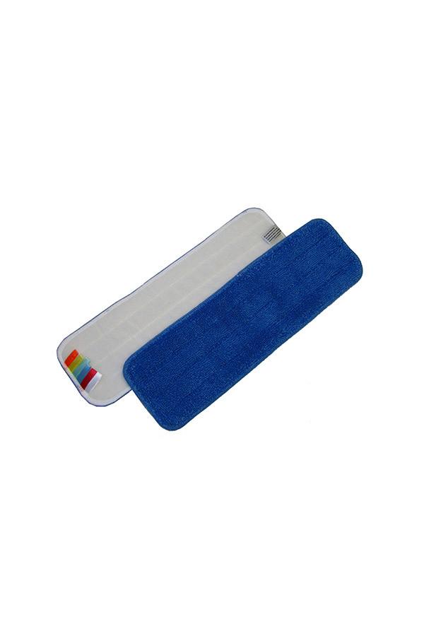 Mikrofasermopp blau mit Farbcodierung, 44 x 13 cm, 5 Stück