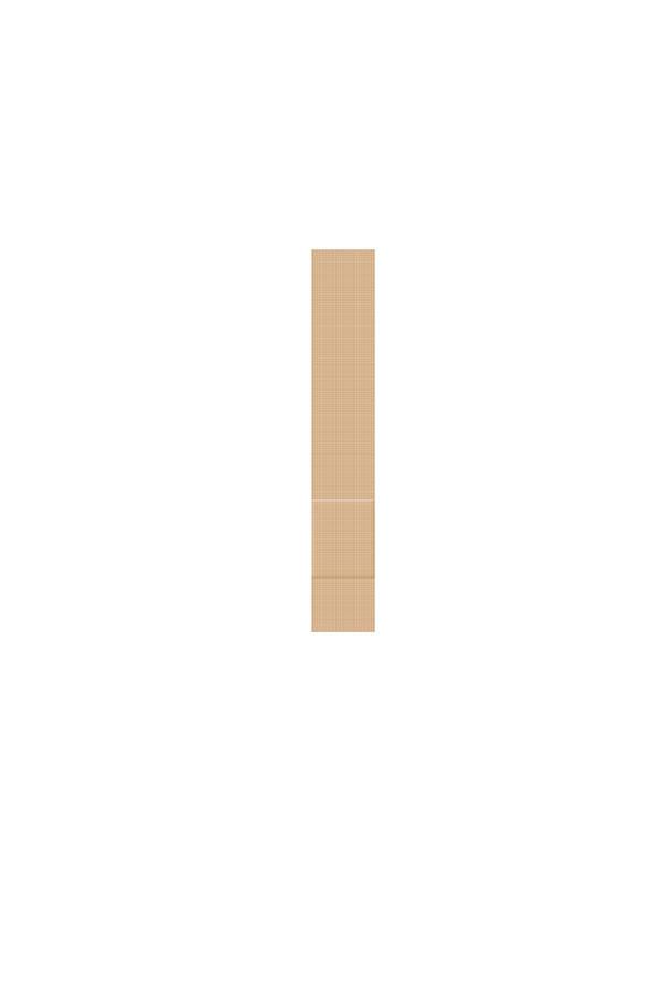 Fingerpflaster - hautfarben -  Elastic 120 x 20 mm  100 Stück