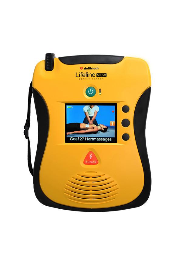 Defibrillator  Lifeline VIEW AED ( Halbautomat )  mit Erste Hilfe Display