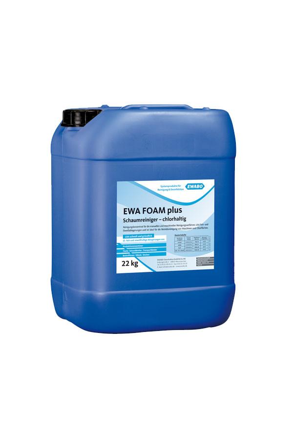 EWA® FOAM plus Konzentrat, Schaumreiniger, chlorhaltig – 11 kg / 22 kg