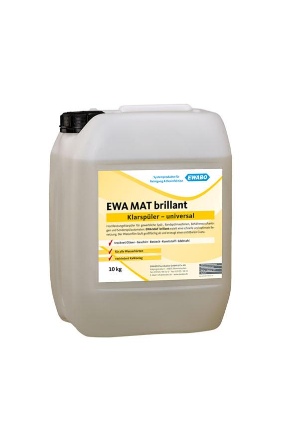 EWA® MAT brillant, Hochleistungsklarspüler universal – 10 kg / 21 kg