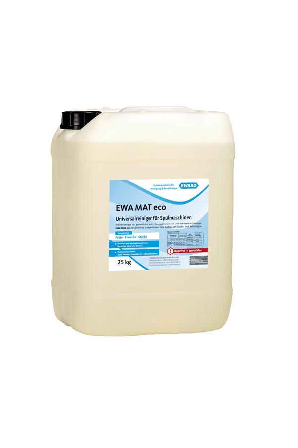 EWA® MAT eco, Universalreiniger für Spülmaschinen, chlorfrei – 13 kg / 25 kg