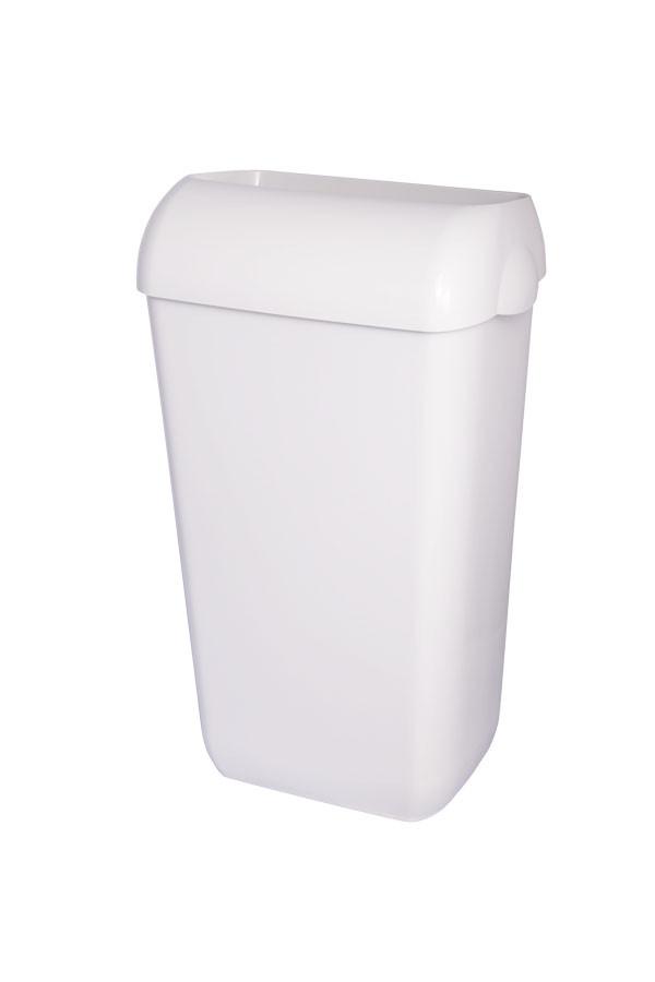Abfallbehälter, Weiß  25 L