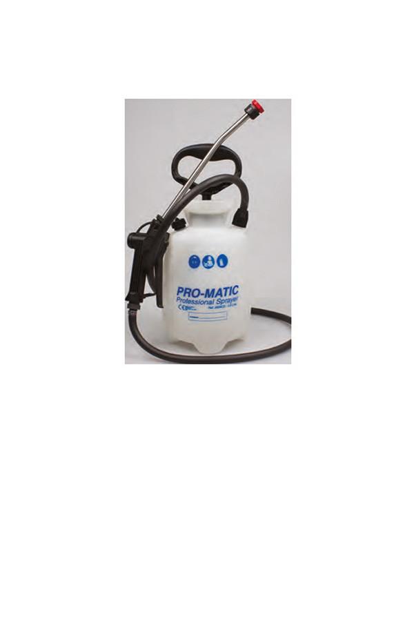 Pumpsprüher PRO-MATIC PREMIUM  3,8 / 7,6 / 11,4 Liter m. Edelstahl-Sprühlanze