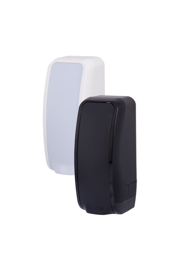 Schaumseifenspender COSMOS, 1000 ml, Kunststoff, Weiß oder Schwarz