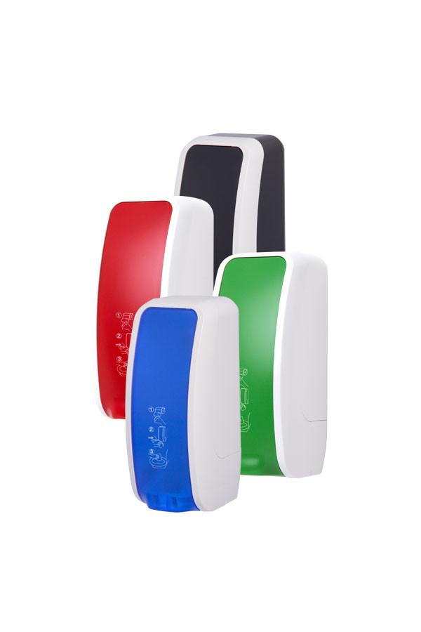 Spender COSMOS für Toilettensitzdesinfektion, 1000 ml, Kunststoff, 2-farbig