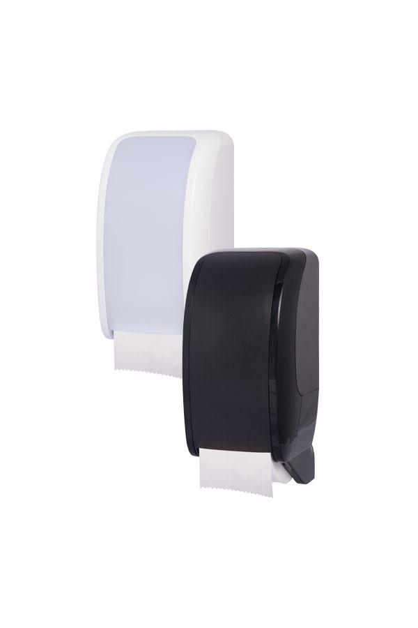 Toilettenpapierspender COSMOS, Kunststoff, Weiß oder Schwarz