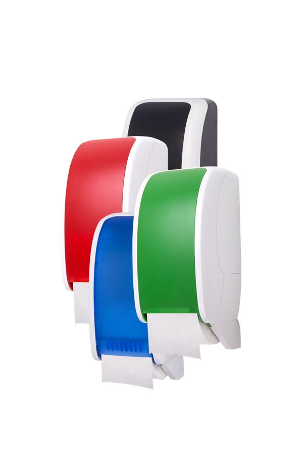 Toilettenpapierspender COSMOS, Kunststoff,  2-farbig