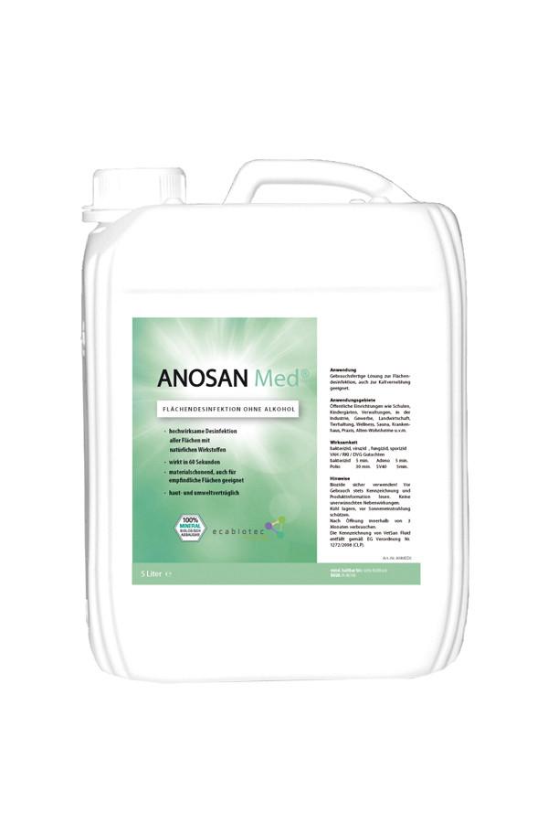 ANOSAN Med®-Verfahren:  Vernebelung  zur  Desinfektion von Räumen und Hilfsmitteln -  Starter - Kit   - AKTIONSPREIS -