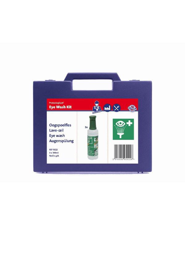 Augenspülungs-Set: 3 x 100 ml in praktischer Aufbewahrungsbox