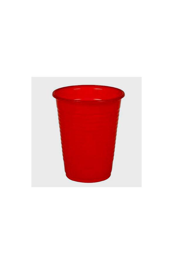 Ausschankbecher, 180 ml, rot / gelb / blau - 100 Stück