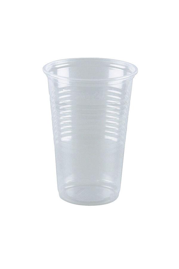 Ausschankbecher, 200 ml, klar - 100 Stück