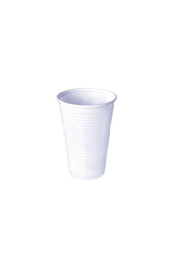 Ausschankbecher, 200 ml, weiß - 100 Stück