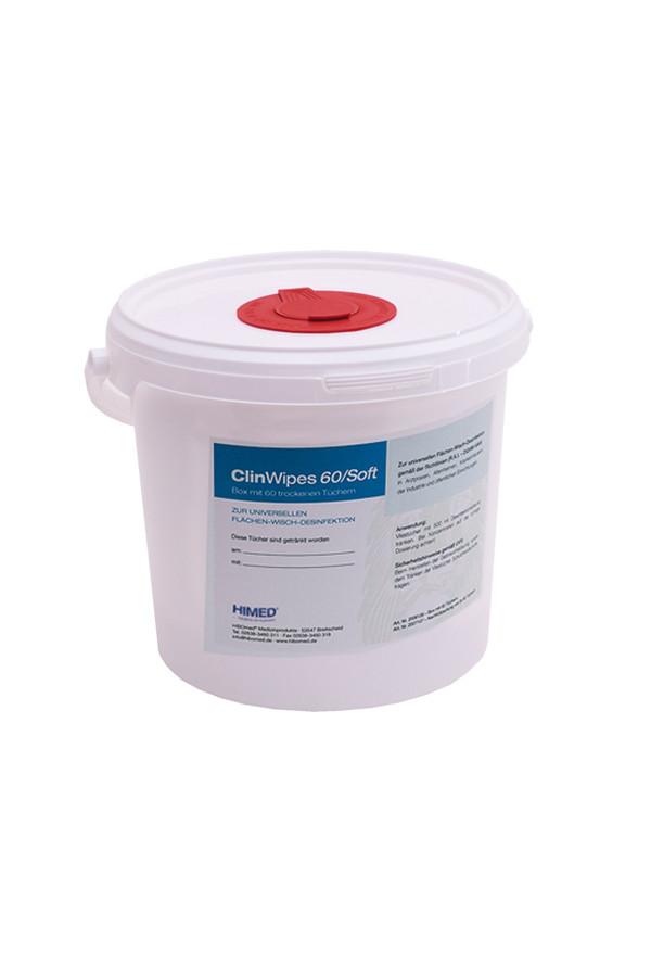 Spendereimer für ClinWipes 60 Einmal-Vliestücher - leer -