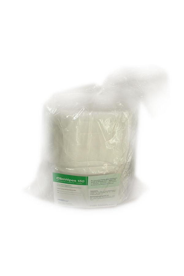 ClinWipes - Nachfüll-Doppelpack 2 x 150 trockene Einmal-Vliestücher