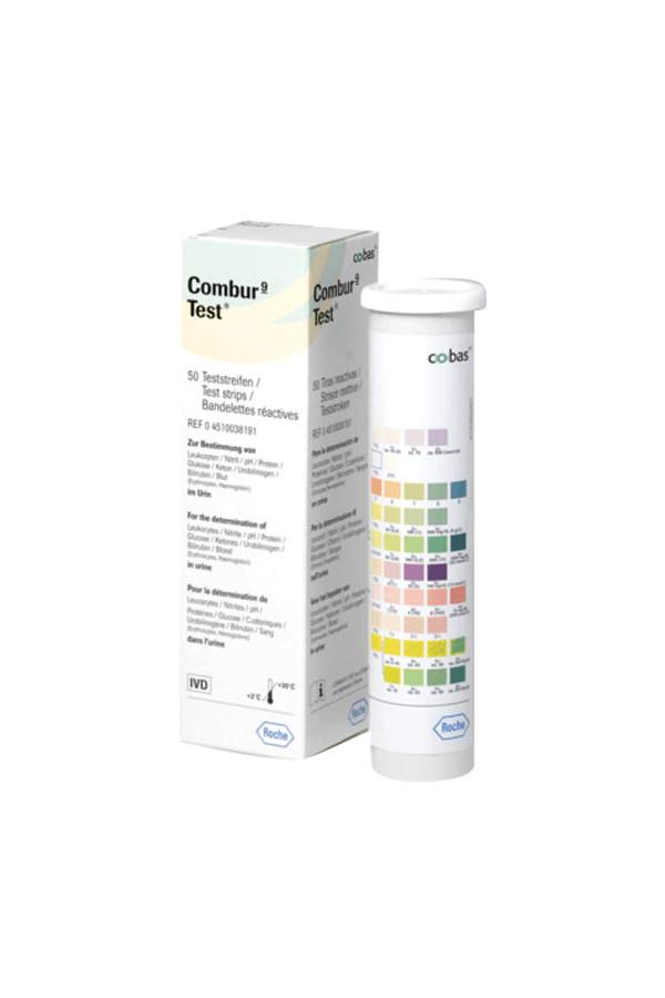 Urinteststreifen COMBUR 9 Test, 100 Stück