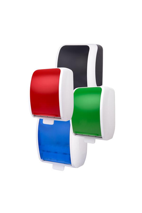 Handtuchrollenspender COSMOS Autocut, Kunststoff, 2-farbig