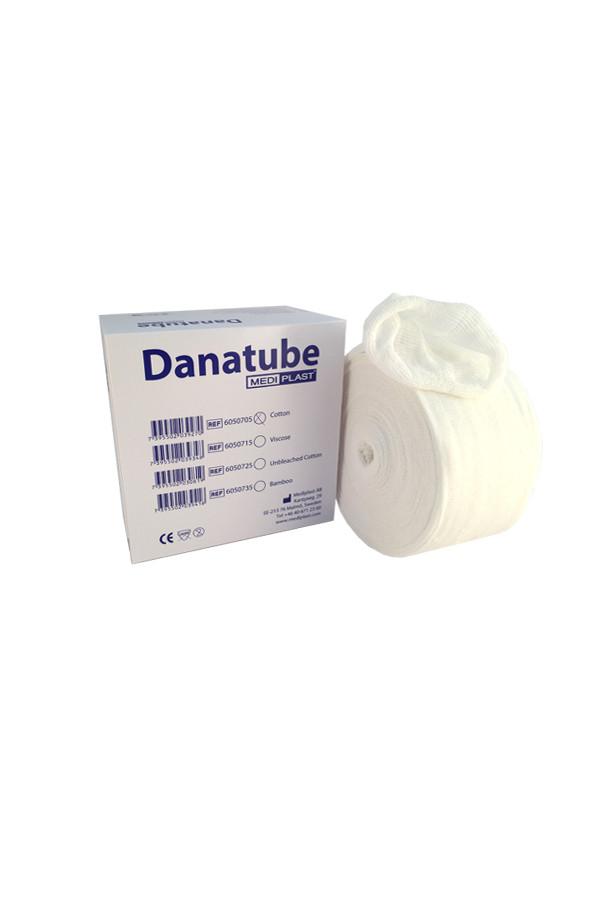 DANATUBE - Schlauchverband - 4 Größen, 6,0 cm bis 16,0 cm x 20 m Rolle