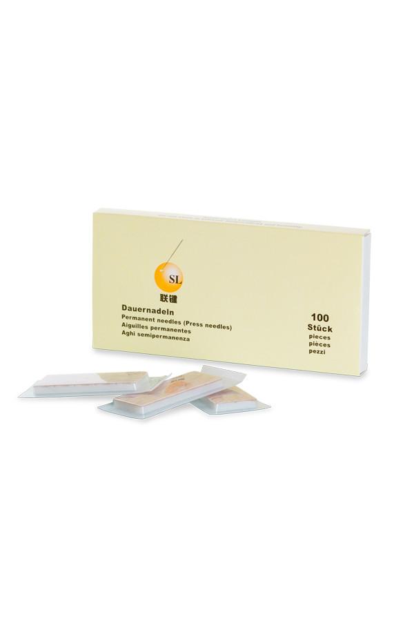 SL - Akupunktur-Dauernadeln, ø 0,22 x 1,5 mm - 100 Stück