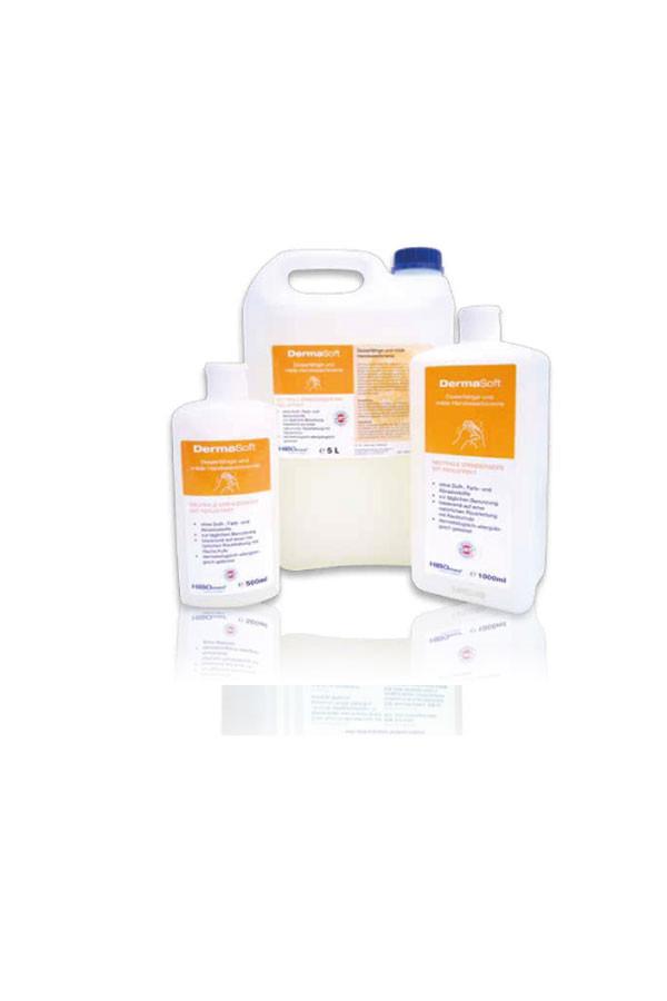 DermaSoft - seifenfreie Waschlotion,  500 ml / 1 L / 5 L