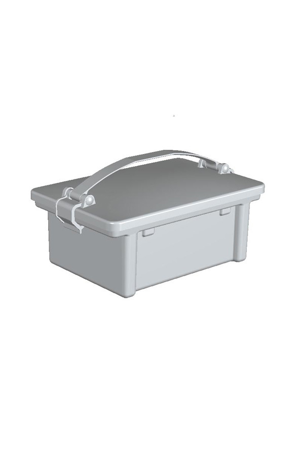 Desinfektionsmittelwanne 3 Liter mit Transportdeckel