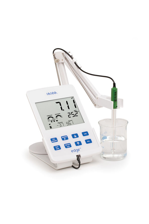 edge® - pH-Meter mit optionaler Redoxpotentialmessung