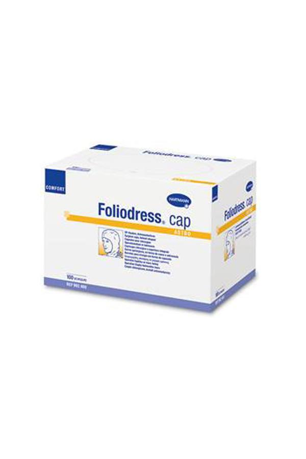 Foliodress® Cap Comfort Universal, grün - 100 Stück