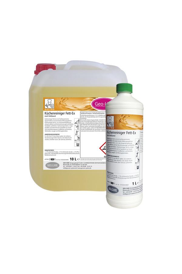 GEO-LINE Profi Fettlöser - alkalisch - 1 L / 10 L