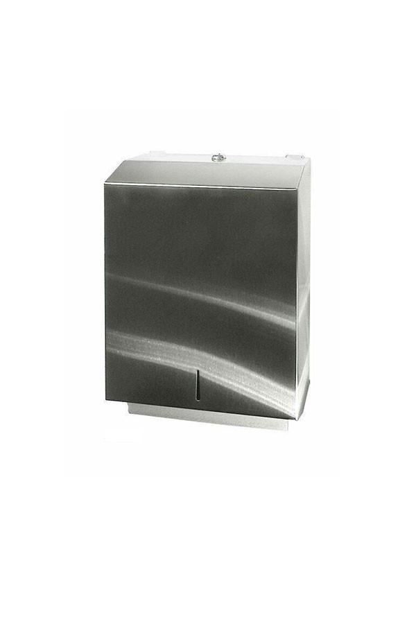 Handtuchspender aus Edelstahl  - 600 Blatt