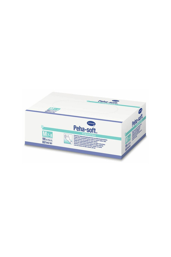 Latex - Premium  Einweghandschuhe, Gr.  S / M / L / XL, 100 Stk./Box