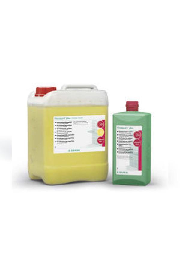 Hexaquart® Plus Lemon fresh, Aldehydfreies Flächendesinfektionsmittel, 0.5 % - 1 Std. - 1 / 5 Liter