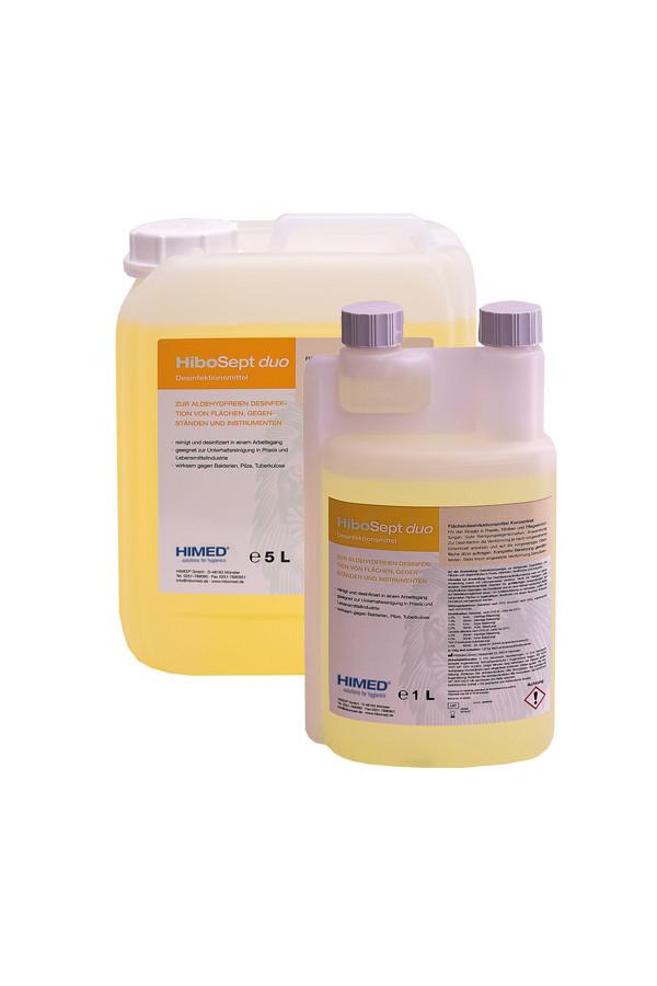 HiboSept duo - Flächendesinfektionsmittel - Konzentrat,  1 Liter / 5 Liter