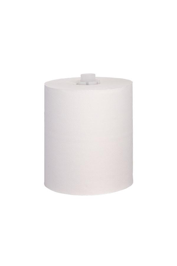 Papier für Handtuchrollenspender COSMOS, 2-lagig, 140 m x 20 cm, 6 Rollen