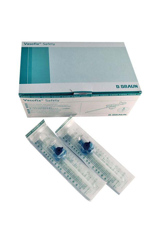 Venenverweilkanülen Vasofix® Safety in 3 Grössen, 18G grün / 20G rosa / 22G blau - 1 Stück