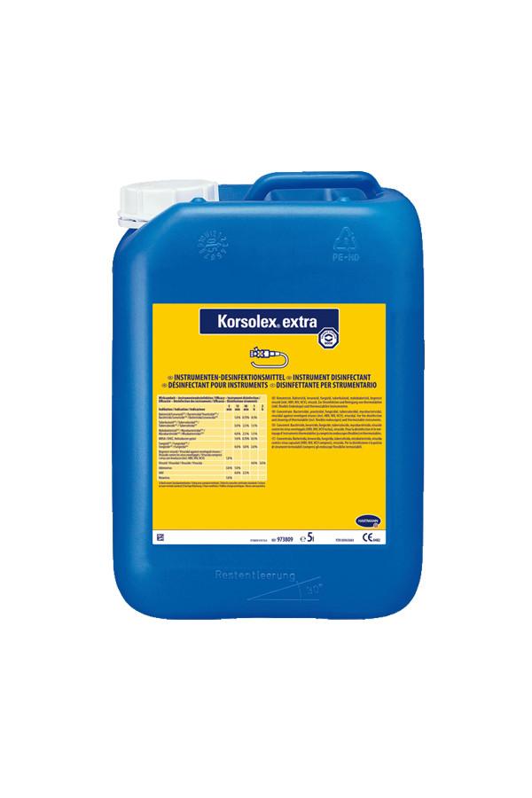 Korsolex extra Instrumenten-Desinfektion thermolabil viruzid  5 Liter