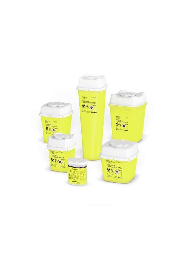 MEDIBOX Kanülensammler aus Kunststoff, 0,7 / 4,7 / 5,7 Liter