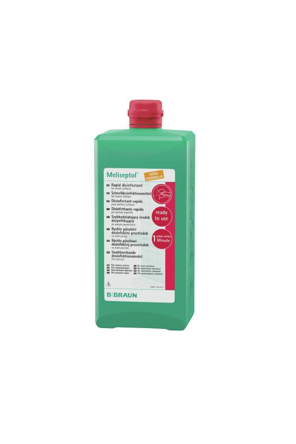 Meliseptol® New Formula, 1 Liter Dosierflasche / 5 Liter Kanister