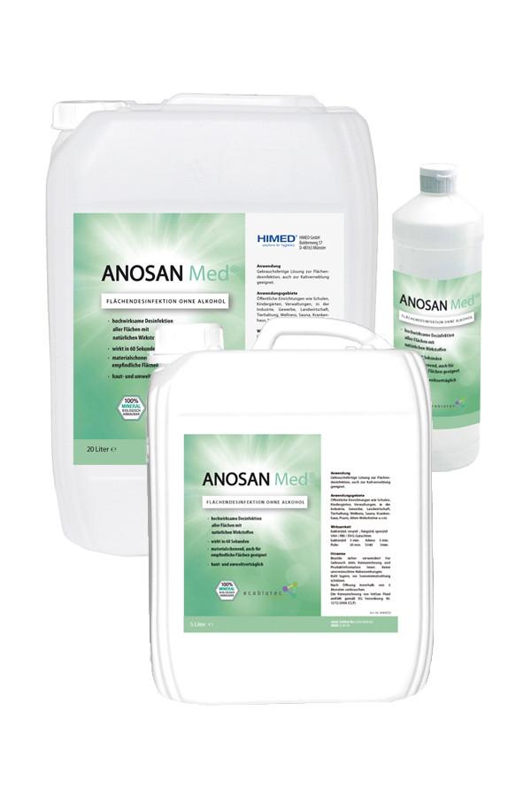 ANOSAN Med® 100 ml, 1 - 5 L