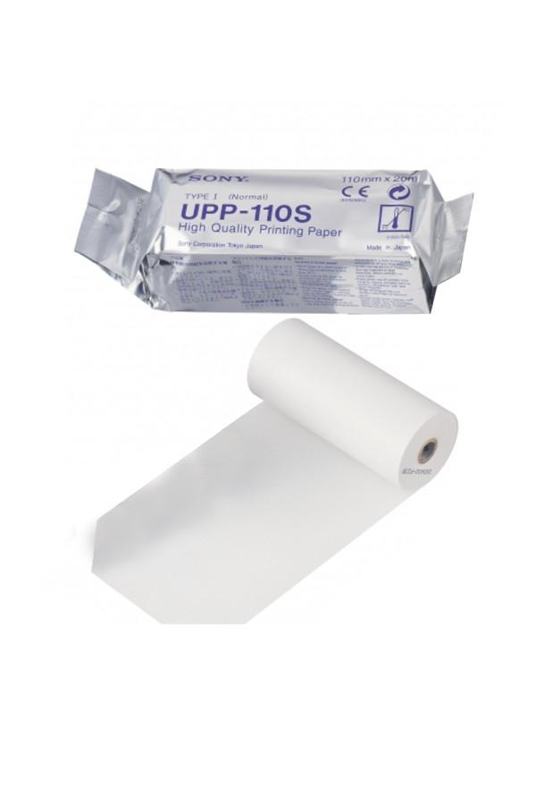 Videoprinterpapiere UPP 110 S für Sony Thermodrucker, 10 Rollen