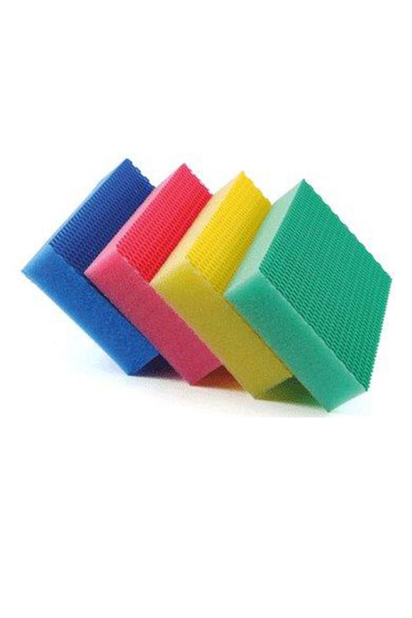 HACCP Schwämme  COLOR CLEAN -  4er Set:  blau, rot, gelb, grün