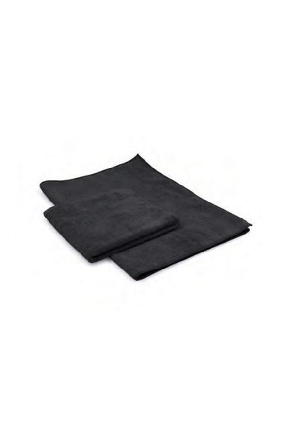 Mikrofasertuch PROFI AUTO - TRICOT SOFT BLACK, 40x40cm, 290g/m², schwarz, 5 Stück im Beutel
