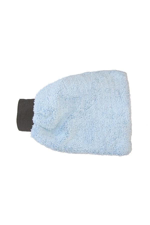 Mikrofaserwaschhandschuh BLUENET, blau, 1 Stück