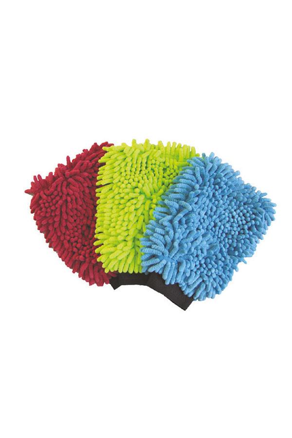 Mikrofaserwaschhandschuh RASTA, farbig, 1 Stück